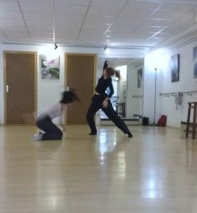 répétition danse salle Atout Forme